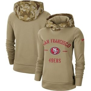 Women's San Francisco 49ers  Pullover Hoodie
